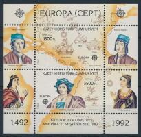 1992 Europa CEPT blokk Mi 10