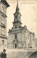 Budapest VI. Terézvárosi római katolikus templom, kávéház (kis szakadás / small tear)