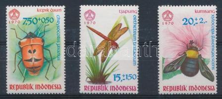 1970 Rovar sor Mi 682-684