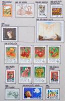 Magyarország gyűjtemény 1961-1991 90%-os gyűjtemény, benne 205 db blokk és kisív 5 db házi készítésű albumban