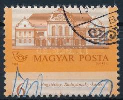 1986 Kastélyok (I.) 6Ft jelentős elfogazással