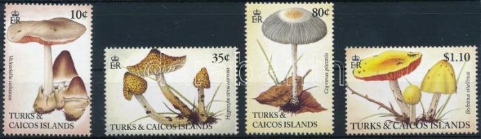 1994 Gomba sor 4 értéke Mi 1155+1157+1160-1161