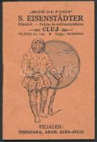 1925 Kolozsvár, S. Eisenstädter Szűcs- és Szőrmeáruházának képekkel illusztrált prospektusa