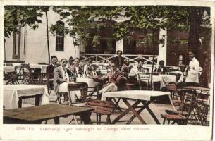 Szentes, Széchenyi ligeti vendéglő, Csongrád Vármegyei Múzeum, Szilágyi Dezső kiadása és felvétele (EB)