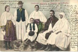 Ormánsági (Baranya megye) magyar népviselet / Hungarian folklore from Ormánság (EK)