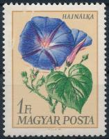 1968 Virág (IX.) - Kerti virágok 1Ft a piros szín jelentős elcsúszásával (ujjlenyomat)