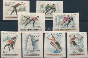 1955 Téli sport vágott sor (**12.000)
