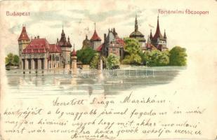 Budapest XIV. Városliget, Ezredéves országos kiállítás, történelmi főcsoport, Kosmos litho (fl)