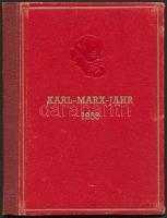 1953 Marx sor külön nyomat kartonpapíron könyv formában