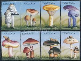 Mushroom set 8 values, Gomba sor 8 értéke