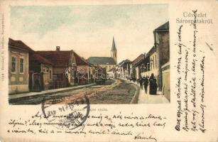 Sárospatak, Kossuth Lajos utca, kiadja Trócsányi B.