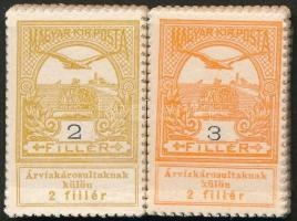 1913 Árvíz (I) 2f + 3f bündlikben (30.000)
