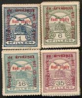 1915 Hadisegély (II) 1f, 6f, 16f és 35f bündlikben (19.000)
