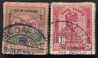 1915 Hadisegély (II) 60f rövid felülnyomással + 1K bündlikben (111.000)