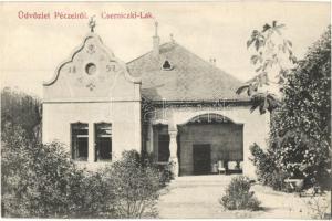 Pécel, Cserniczki-lak, Berger Rezső kiadása