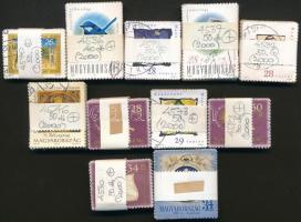 2000 11 klf bélyeg 30-80-as kötegekben, összesen 570 db bélyeg (38.300)