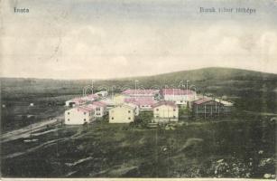 Inota, Barak tábor látképe, Scheiber Izidor kiadása (vágott / cut)