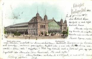 1899 Budapest VI. Nyugati pályaudvar (Rb)