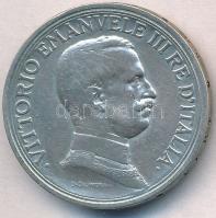 Olaszország 1915R 2L Ag III. Viktor Emánuel T:2- Italy 1915R 2 Lire Ag Vittorio Emanuele III C:VF
