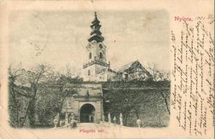 Nyitra, Nitra; Püspöki vár / bishops castle (Rb)