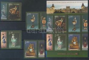 2005 Nemzeti Múzeum ívszéli sor Mi 4191-4194 + blokk Mi 164