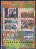 2005 Impresszionista festmények blokk Mi 168
