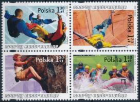 2005 Extrém sportok négyes tömb Mi 4176-4179