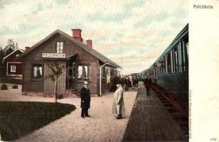 Polcirkeln, Railway station