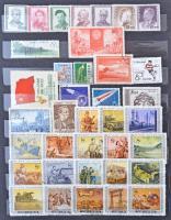 Kínai, szovjet és kevés egyéb bélyeg 8 lapos A/4 berakóban
