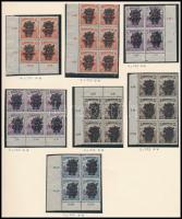 1920 Búzakalász sor + Búzakalász portó sor + 7 db 4-es és 6-os tömb (18.500)