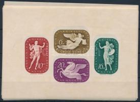 1941 7 db Művész blokk (10.500)