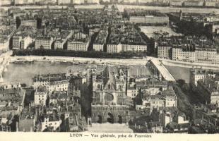 7 db RÉGI francia városképes lap / 7 pre-1945 French town-view postcards