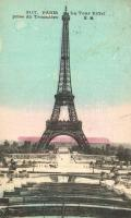 Paris, Eiffel Tower - 7 pre-1945 postcards