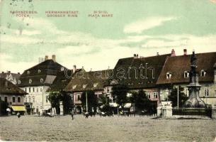 Nagyszeben, Hermannstadt, Sibiu; főtér / main square (EB)