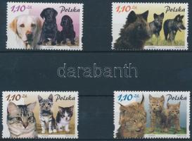2002 Állatok és kicsinyeik sor Mi 3960-3963