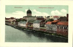 Nagyvárad, Oradea; Körösparti részlet / riverside (EK)