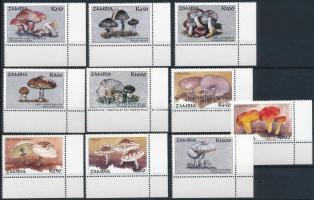 1998 Gomba sor Mi 834-843
