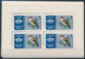 1961 3 db Ezüst kisívsor (10.500)
