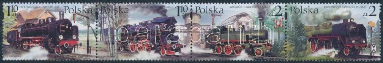 2002 Vasút, Gőzmozdonyok négyescsík Mi 3997-4000