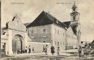 Kézdivásárhely, Targu Secuiesc; Római katolikus templom, Turóczi István kiadása / church (EK)