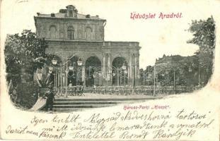 Arad, Baross park, Kioszk / park, kiosk (EK)