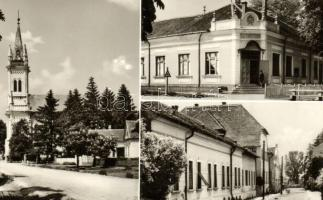 34 db MODERN fekete-fehér magyar városképes lap a 1960-as és 1980-as évekből / 34 modern black and white Hungarian town-view postcards