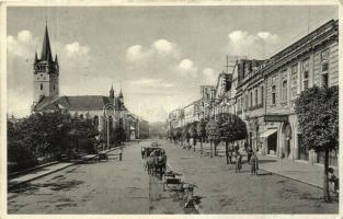 22 db főleg RÉGI felvidéki városképes lap, vegyes minőség / 22 mostly pre-1945 Slovakian town-view postcards, mixed quality