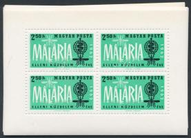 1962 13 db Malária kisív (10.400)
