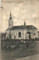 Sepsiszentgyörgy, Sfantu Gheorghe; Római katolikus templom, Benkő M. kiadása / church (fl)