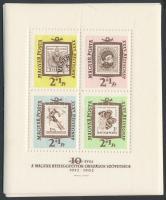 1962 10 db Bélyegnap blokk (10.000)