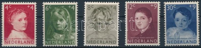1957 Gyermek sor Mi 707-711 (Mi EUR 14,-)