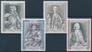 2000 Lengyel uralkodók sor Mi 3863-3866
