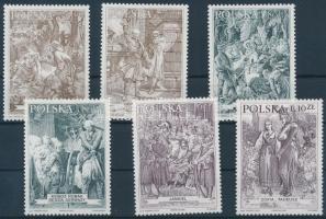 2000 Római epikus hősök sor Mi 3838-3843