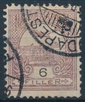 1900 Turul 6f B fogazás (rövid fogak) (20.000)